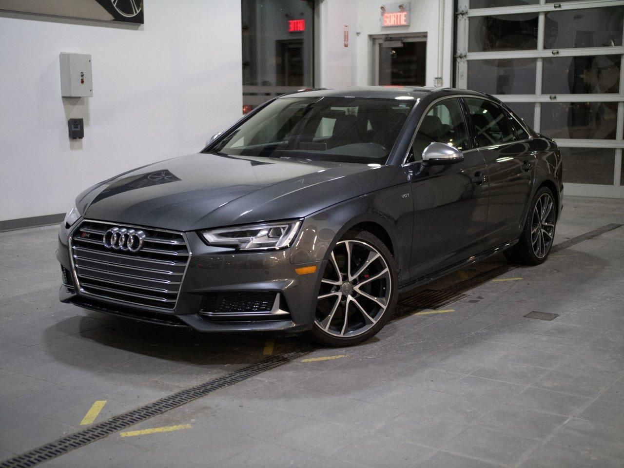 2018 Audi  S4 SEDAN Progressiv *Impeccable* toit* caméra*navigati