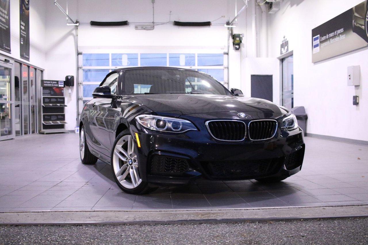 2016 BMW  Série 2 228i xDrive *convertible*moins de 20 000 km*