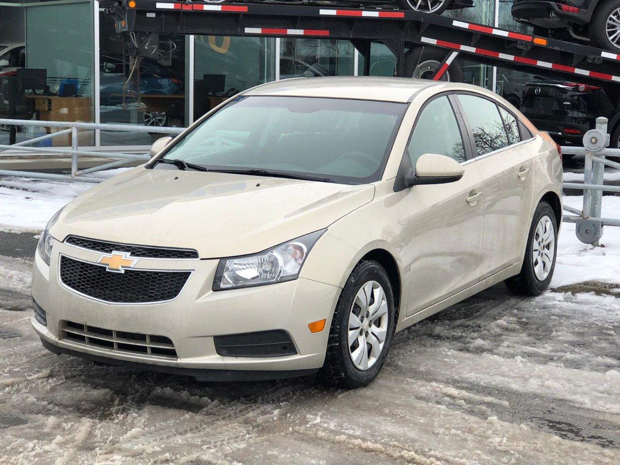 2012 Chevrolet  Cruze LT *CRUISE*GR ELECT*AC*CD*BAS KILLO*
