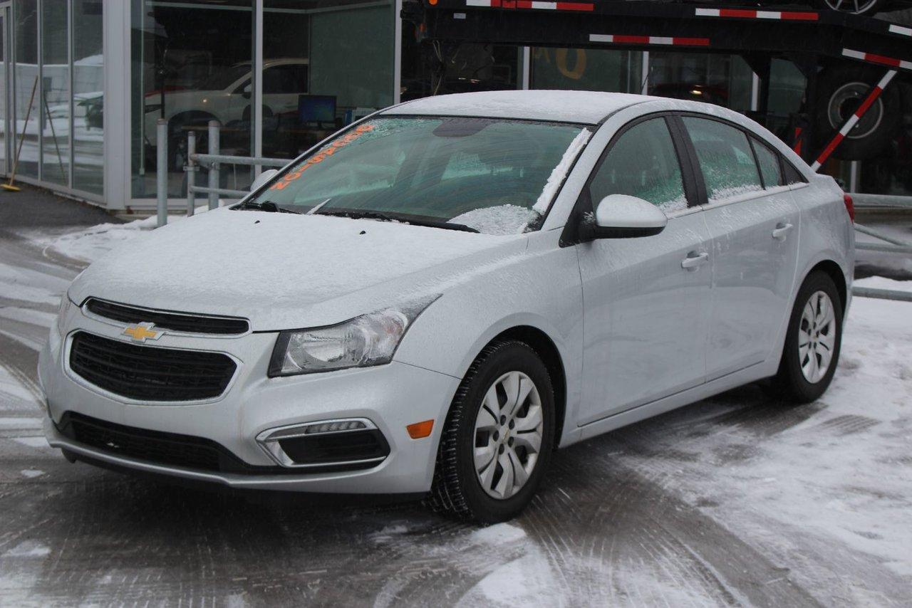2015 Chevrolet  Cruze LT*TURBO*BLUETOOTH*CRUISE*CAMERA RECUL*