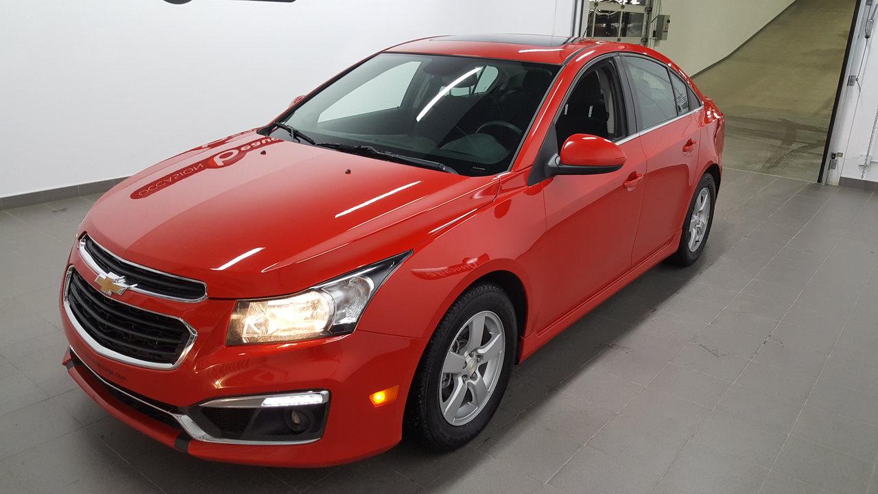 2015 Chevrolet  Cruze 1LT, bluetooth, régulateur