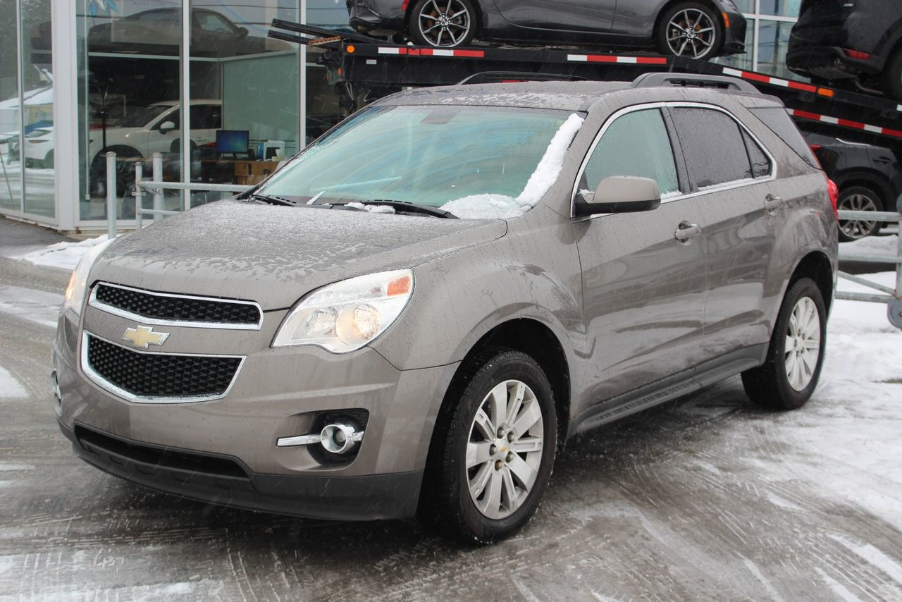 2010 Chevrolet  Equinox LT*CUIR*AC*BLUETOOTH*CRUISE*CAM*SIEGES CHAUFF