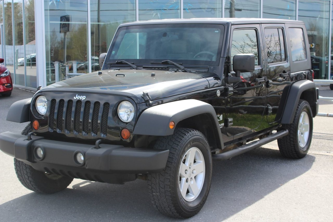 jeep wrangler unlimited 2009 d 39 occasion vendre chez mazda de granby. Black Bedroom Furniture Sets. Home Design Ideas