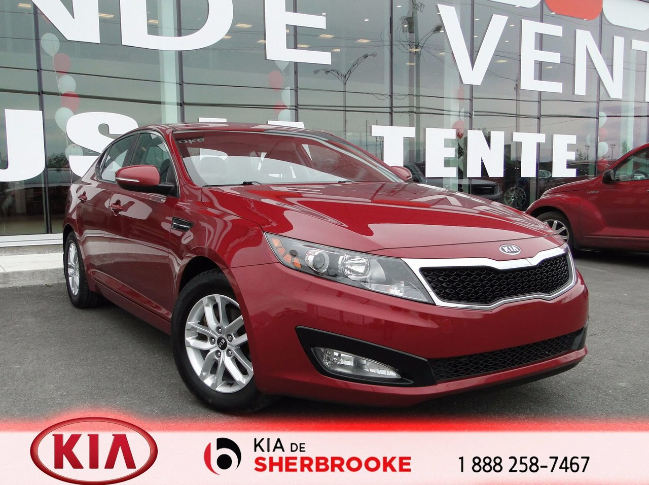 kia optima 2012 d 39 occasion vendre chez kia de sherbrooke. Black Bedroom Furniture Sets. Home Design Ideas