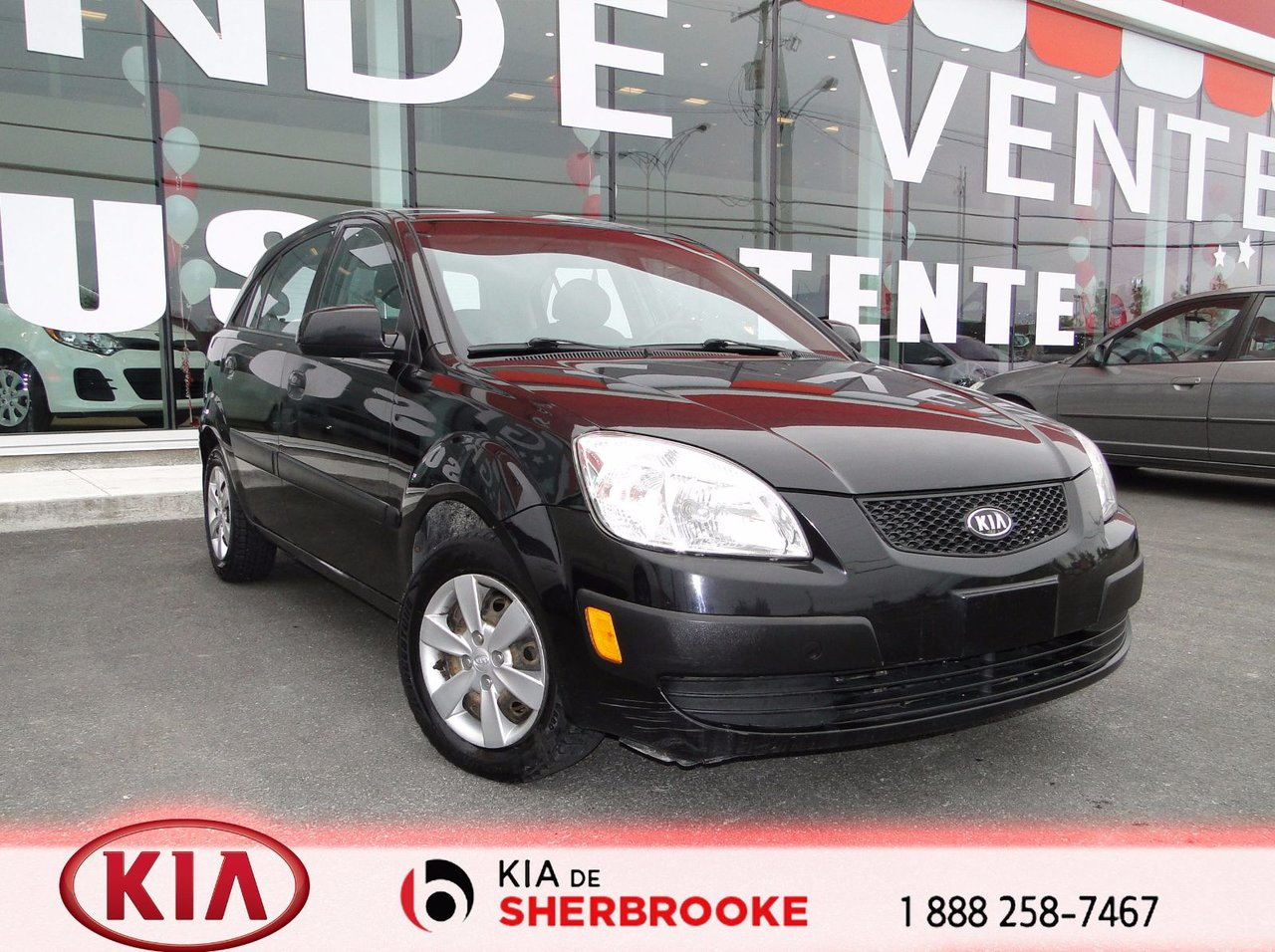 kia rio 2009 d 39 occasion vendre chez kia de sherbrooke. Black Bedroom Furniture Sets. Home Design Ideas