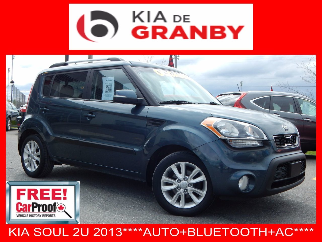 kia soul 2013 d 39 occasion vendre chez kia de granby. Black Bedroom Furniture Sets. Home Design Ideas