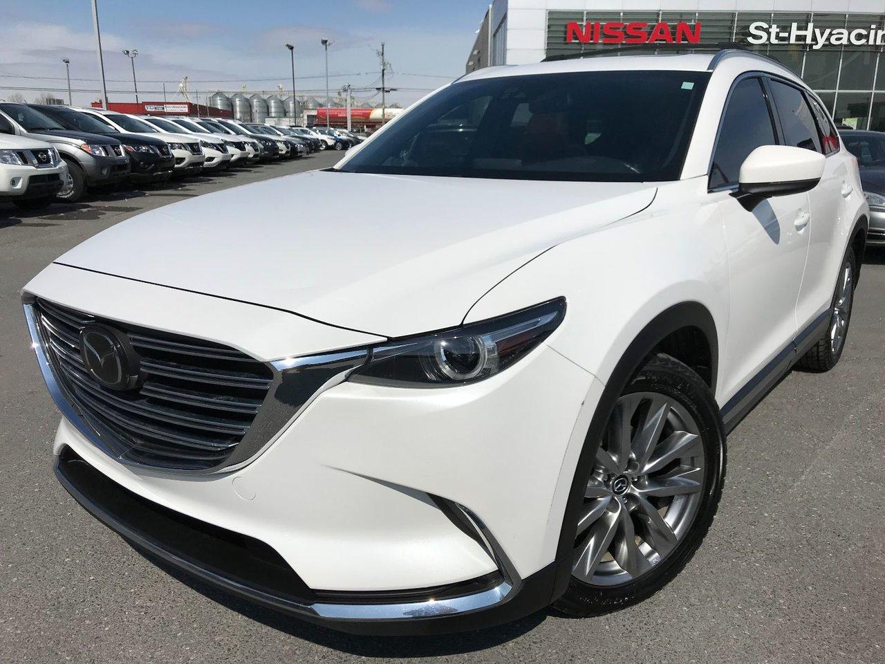 Mazda CX-9 SIGNATURE AWD CUIR TOIT GPS JAMAIS ACCIDENTÉ 2016