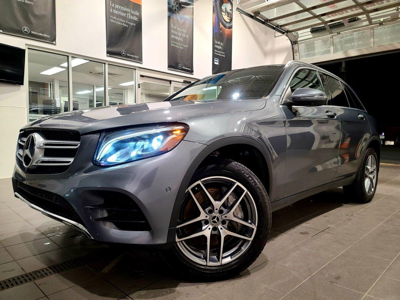 2019 Mercedes-Benz  GLC300 - $830.58/Mois 36M 0$ Comptant!