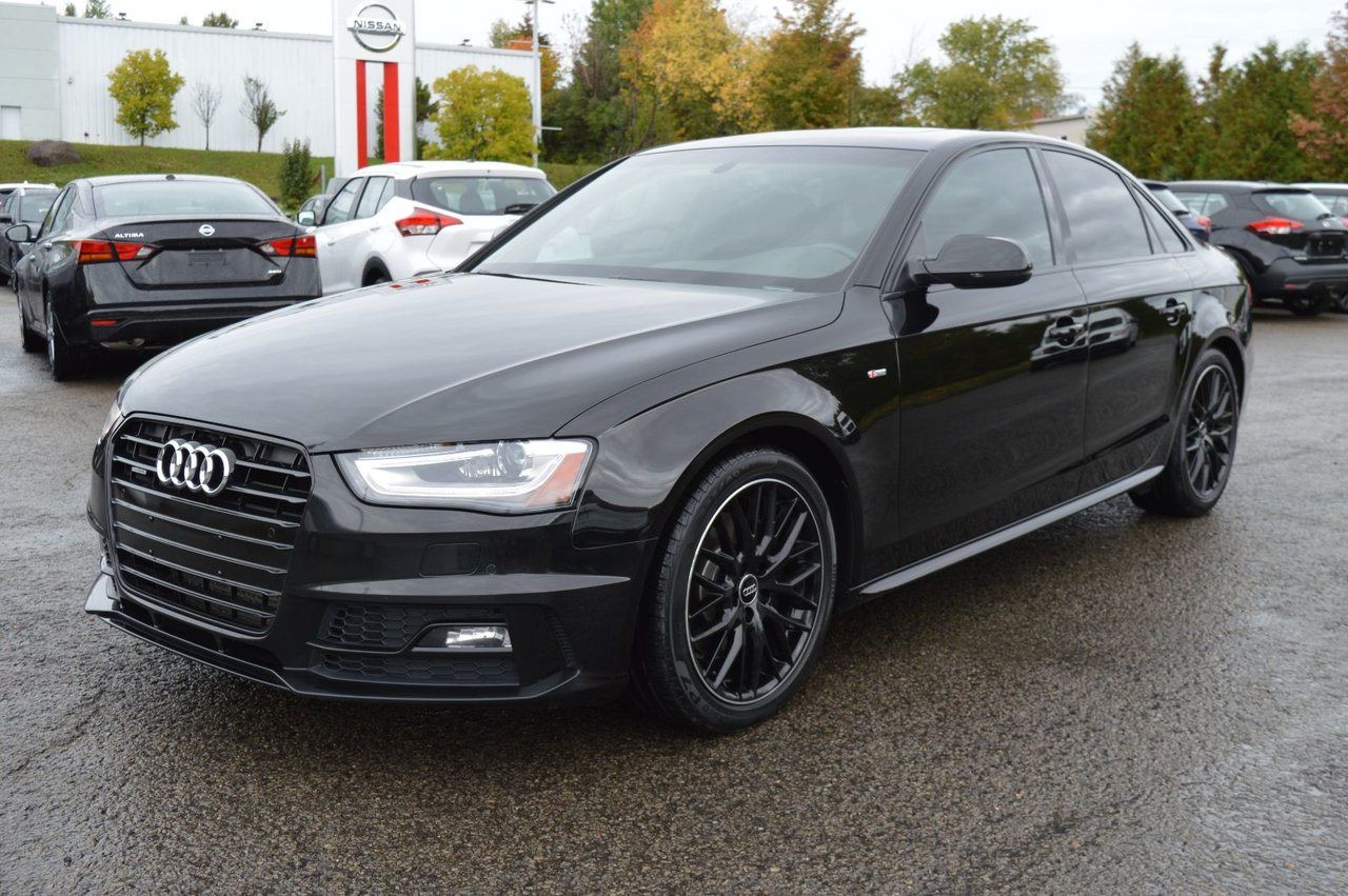 2015 Audi  A4 TECHNIK S-LINE COMPETITION TOIT NAV AUDIO B&O