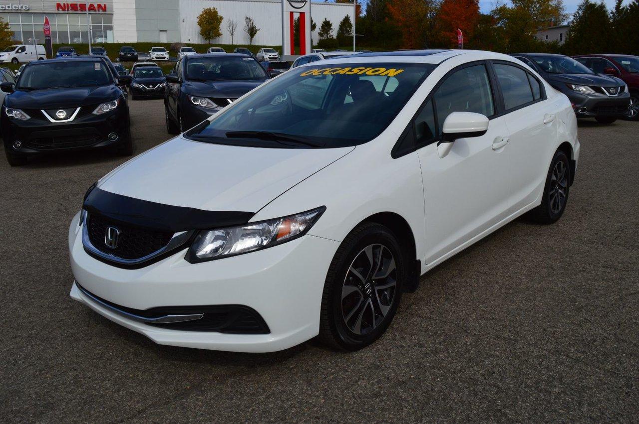 2015 Honda  Civic Sedan EX AUTOMATIQUE, TOIT OUVRANT GROUPE ELECTRIQU