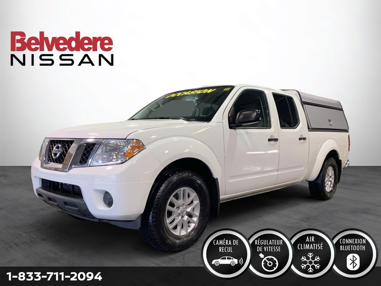 Nissan Frontier 2018 SV 4X4 AUTOMATIQUE CAMERA DE RECUL BLUETOOTH