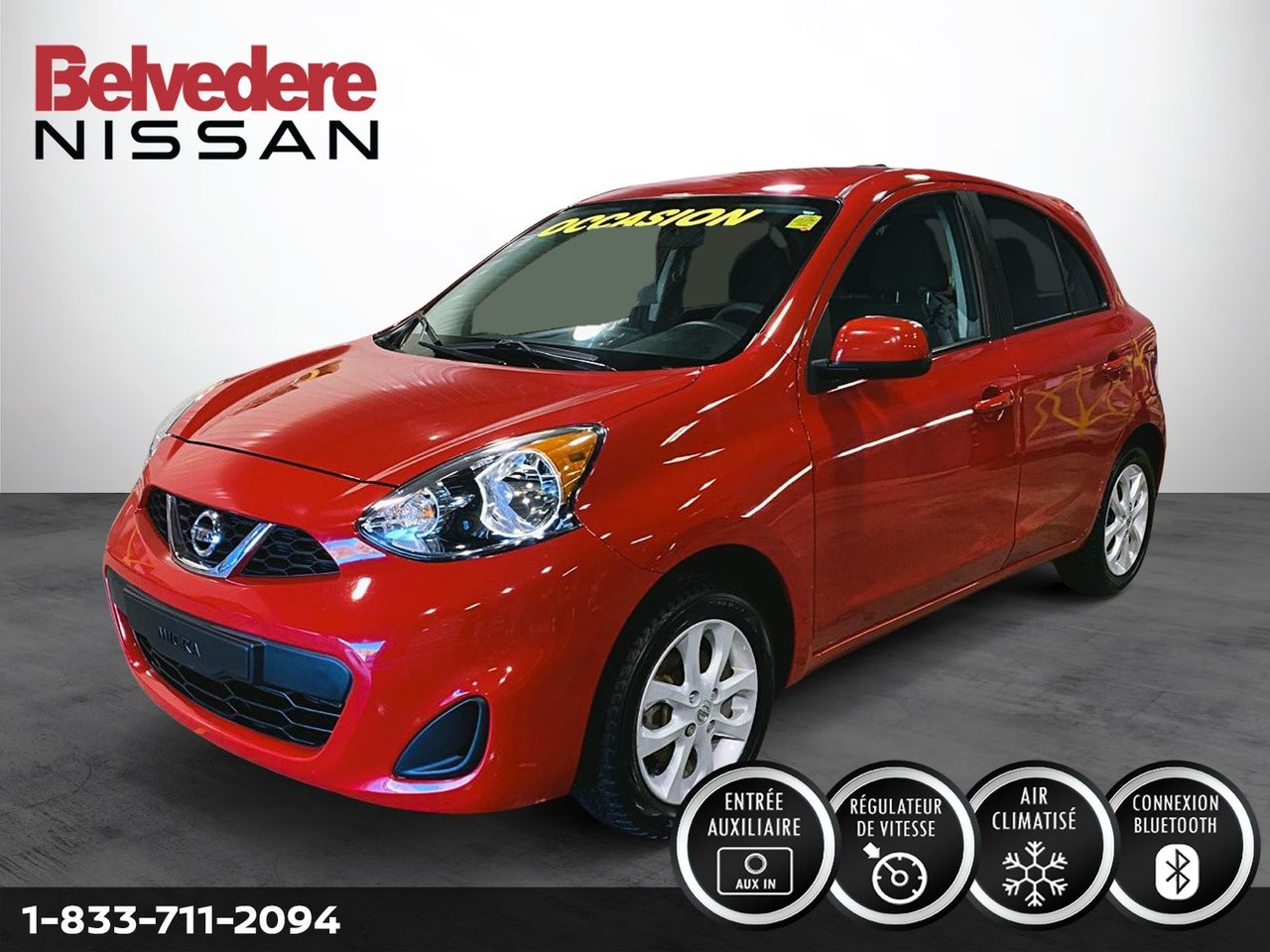 Nissan Micra 2018 SV MAGS AUTOMATIQUE AIR BLUETOOTH