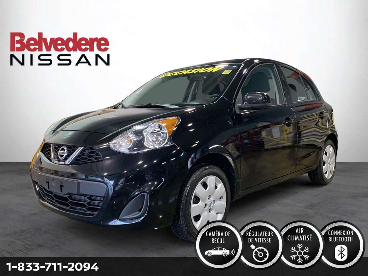 Nissan Micra 2018 SV AUTOMATIQUE A/C CAMERA BLUETOOTH
