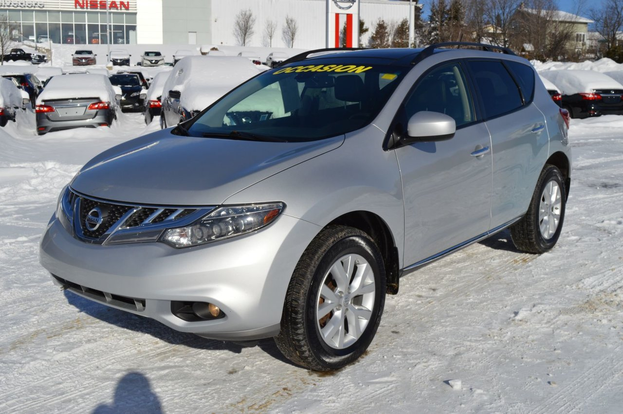 2014 Nissan  Murano SL CUIR TOIT PANORAMIQUE AWD