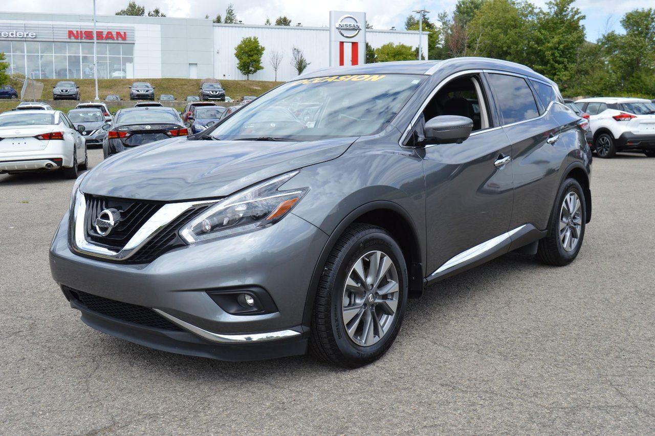 2018 Nissan  Murano SL AWD CUIR AUTOMATIQUE NAVIGATION TOIT OUVRA