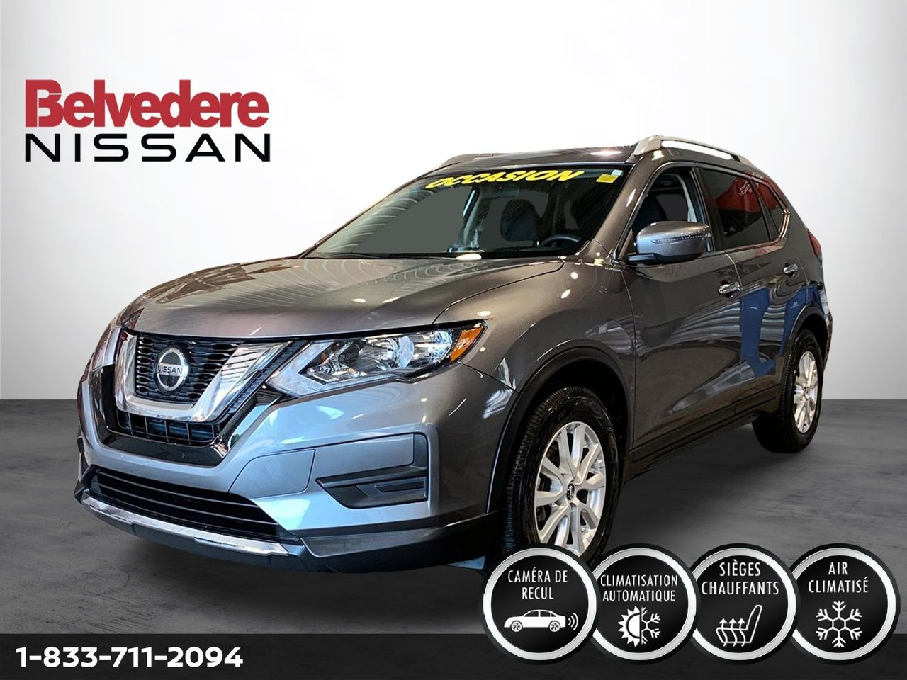 Nissan Rogue 2019 S SPECIAL EDITION FWD MAGS CAMERA SIÈGES-CH