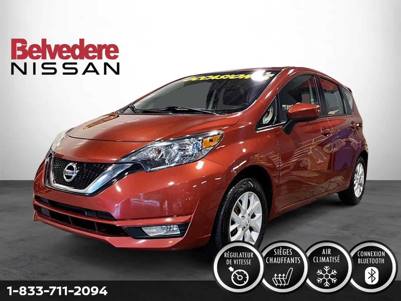 Nissan Versa Note 2019 SV AUTOMATIQUE A/C MAGS CAMERA BLUETOOTH