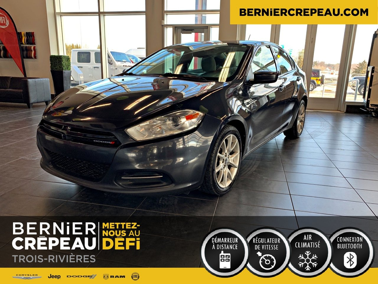 2013 Dodge  Dart SXT A/C  CRUISE BLUETOOTH GROUP ELECTRIQUE