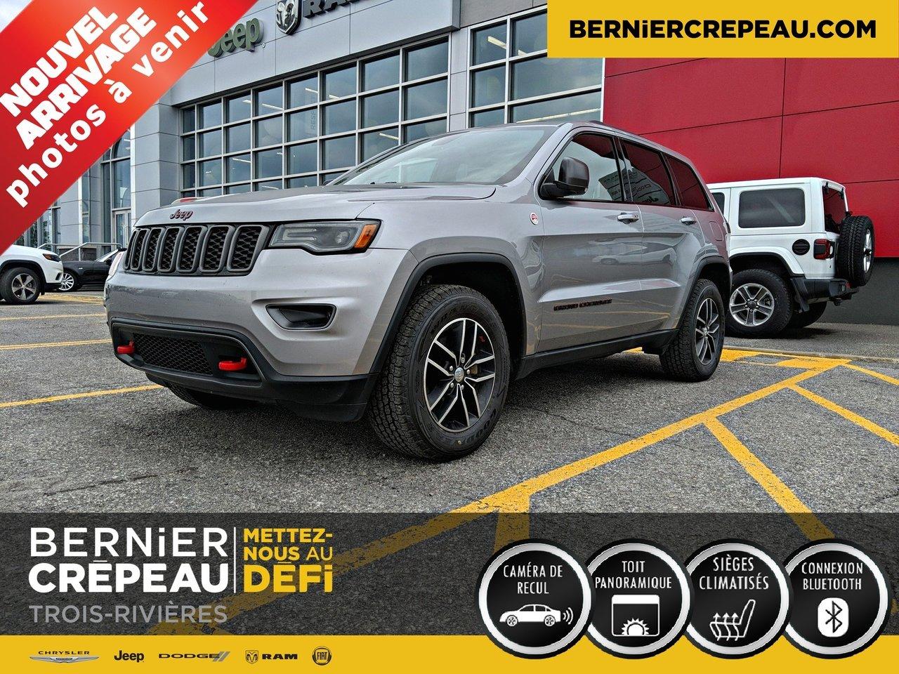 2017 Jeep  Grand Cherokee TRAILHAWK TOIT PANO HITCH CUIR