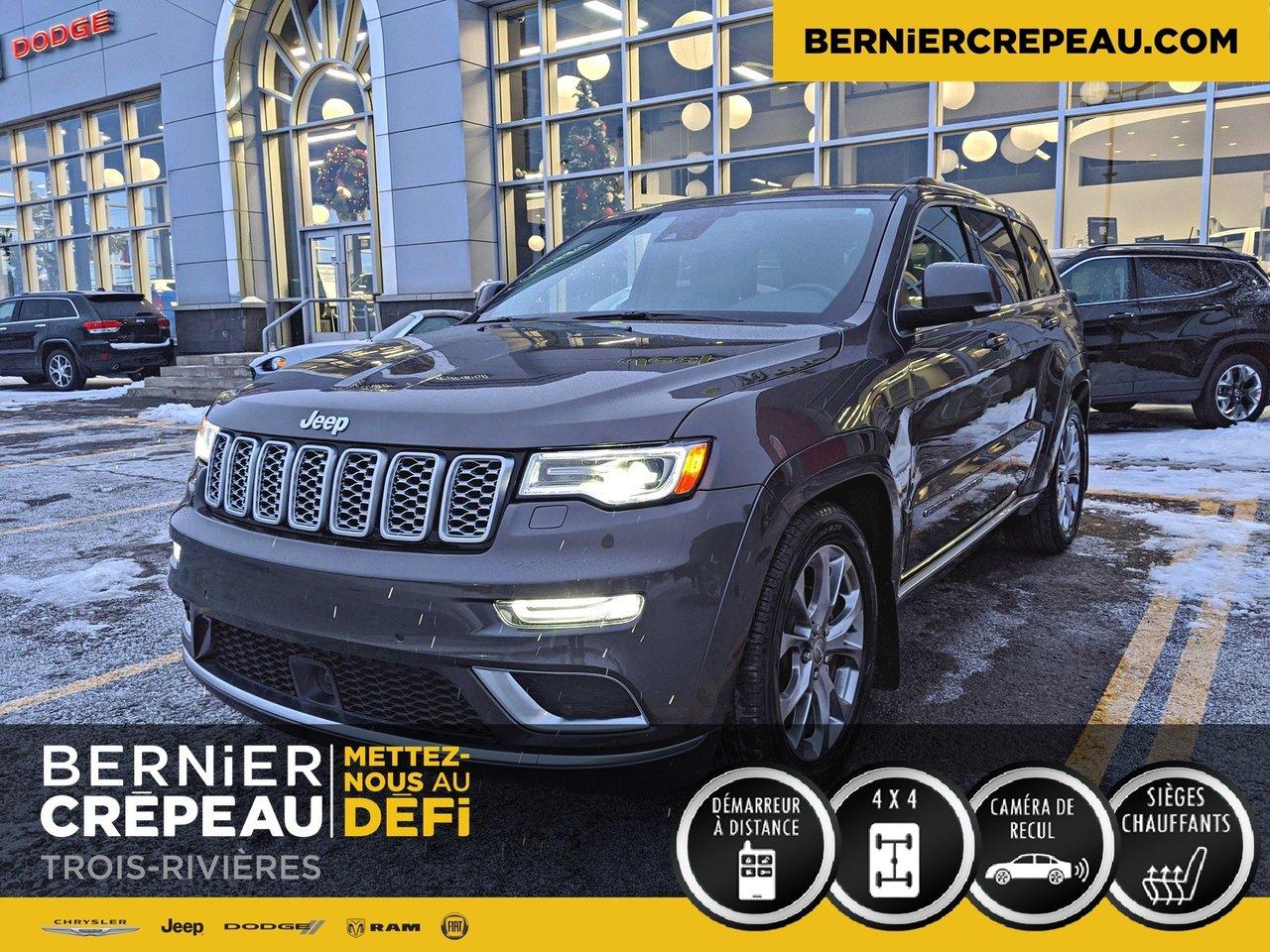2019 Jeep  Grand Cherokee SUMMIT 4X4 CUIR GPS FULL DÉMO