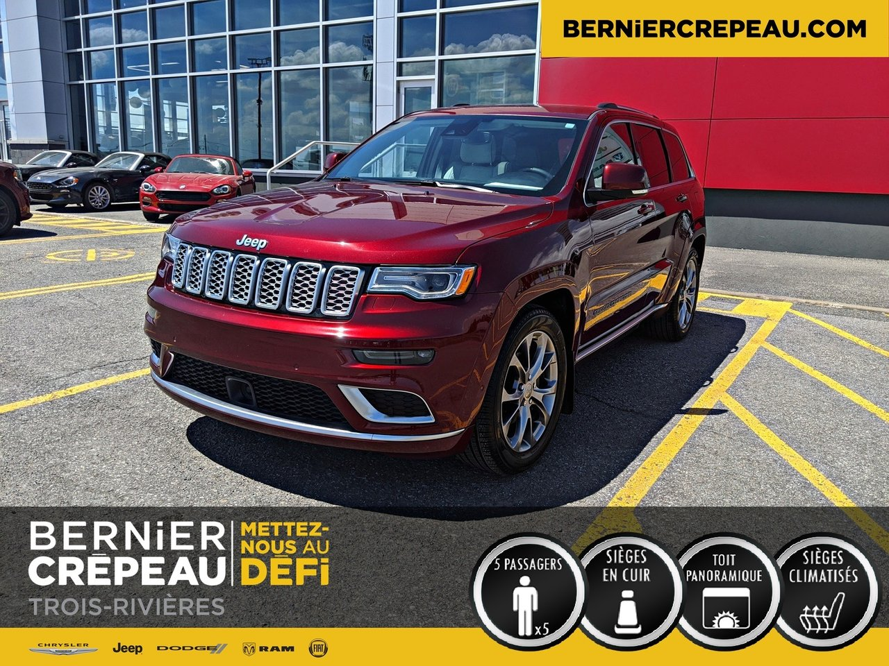 2020 Jeep  Grand Cherokee Summit FULL TOIT PANO CRUISE ADAPTATIF