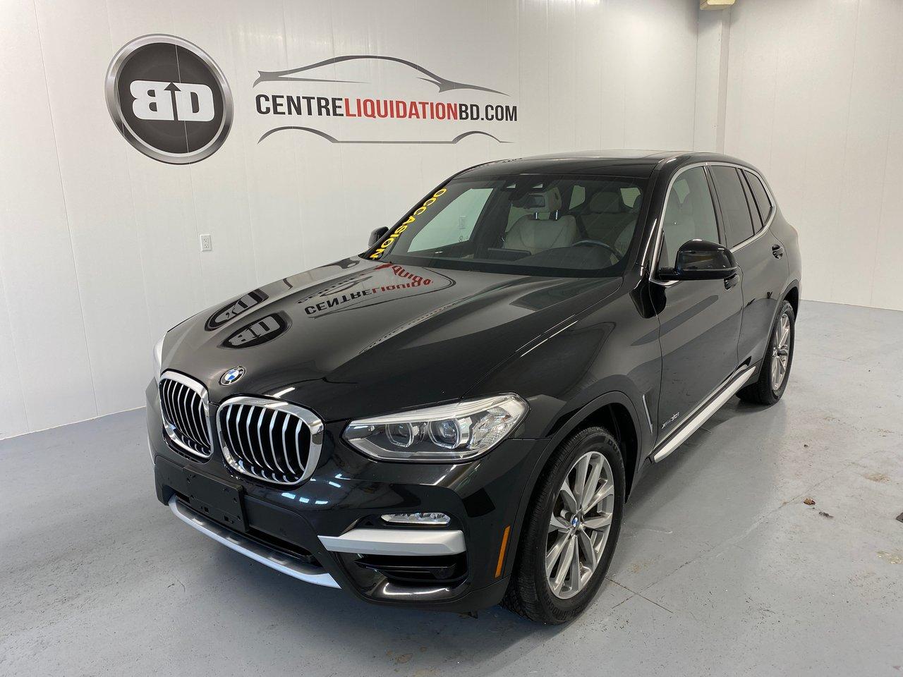 BMW X3 2018 XDrive30i + CUIR + TOIT PANO