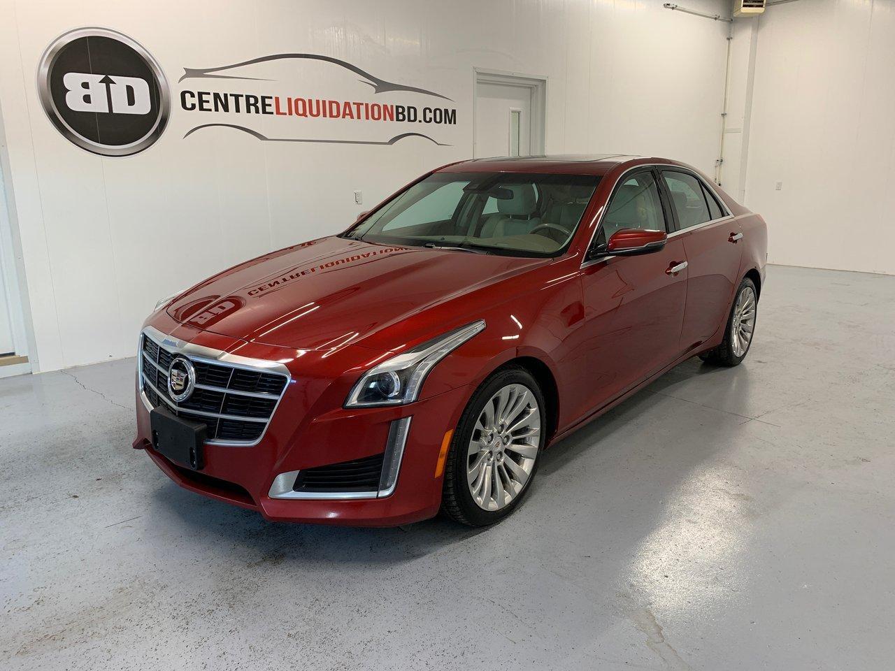 Cadillac CTS 2014 Luxury AWD