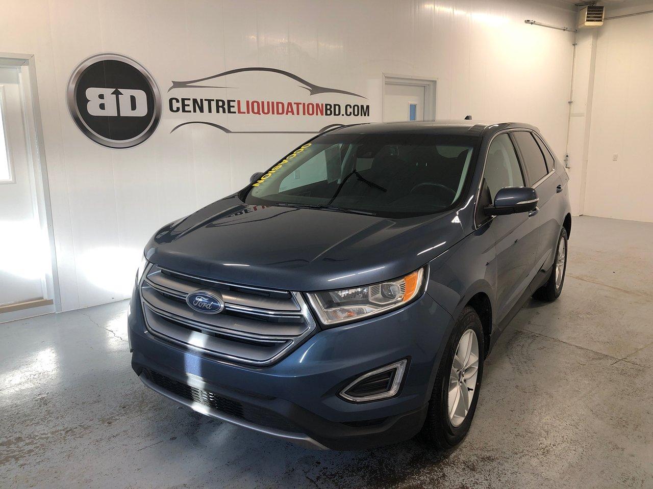 Ford Edge 2018 SEL + AWD + 2.0 L ECOBOOST