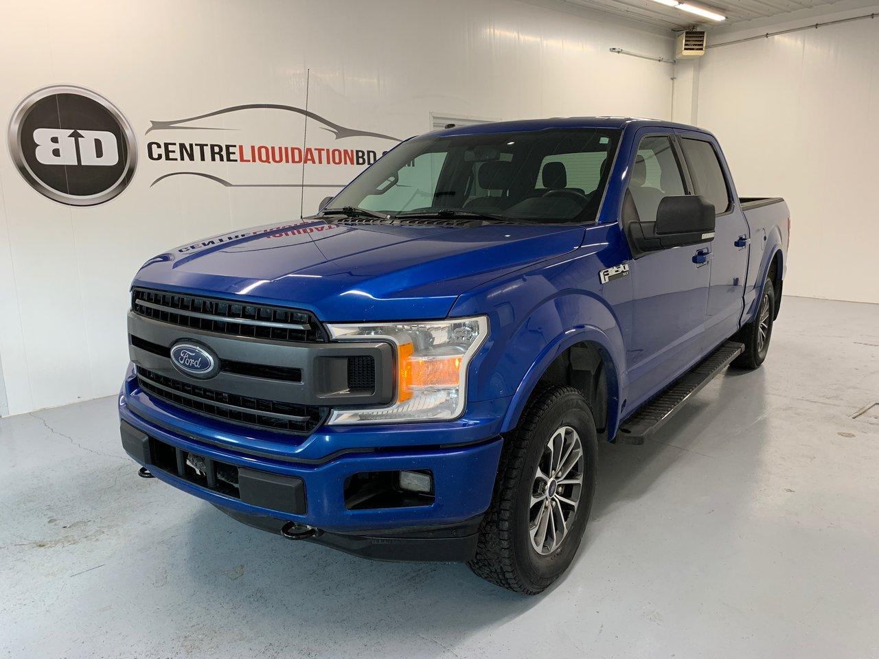 Ford F-150 2018 XLT FX4 CREW CAB V8 5.0L