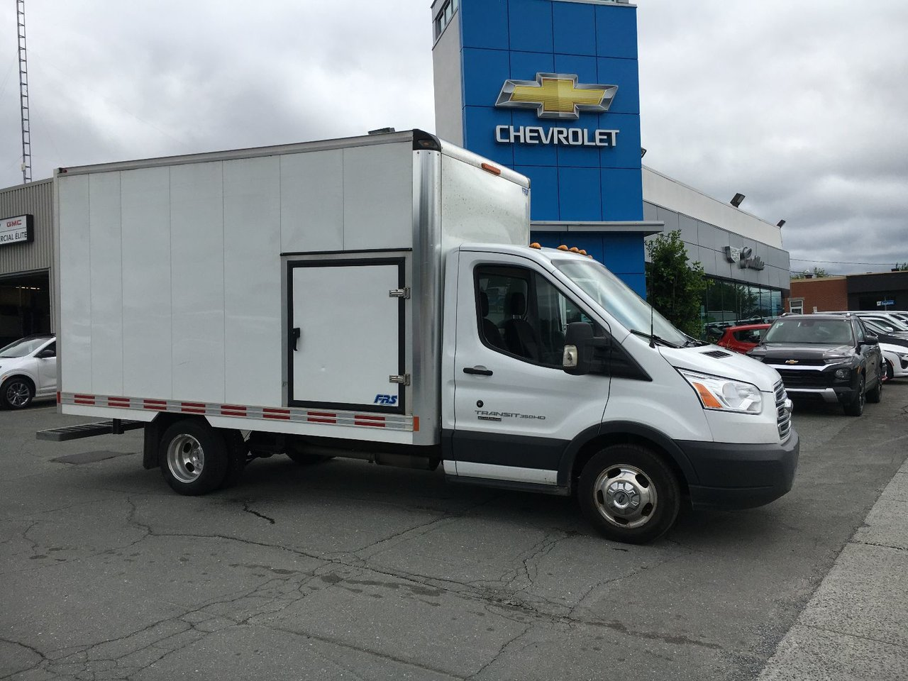 2018 Ford  Transit Chassis Cab Cube