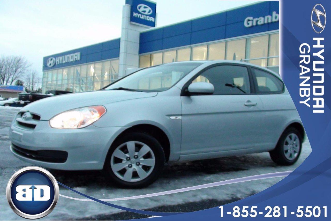 Hyundai accent 2010 d 39 occasion vendre chez for Accent meuble trois rivieres