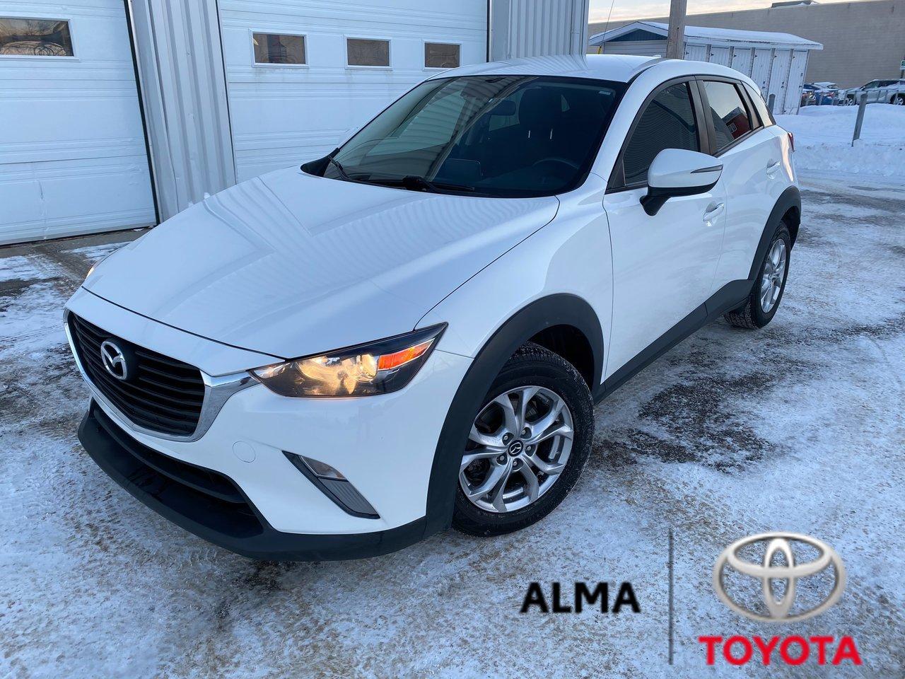 2017 Mazda  CX-3 GS, AWD, MAGS, BANC CHAUFFANT, GPS