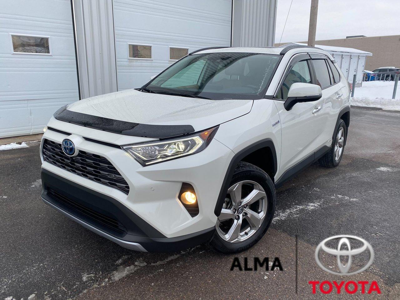 2019 Toyota  RAV4 LIMITED HYBRID, AWD, TRÈS RARE SUR LE MARCHÉ,