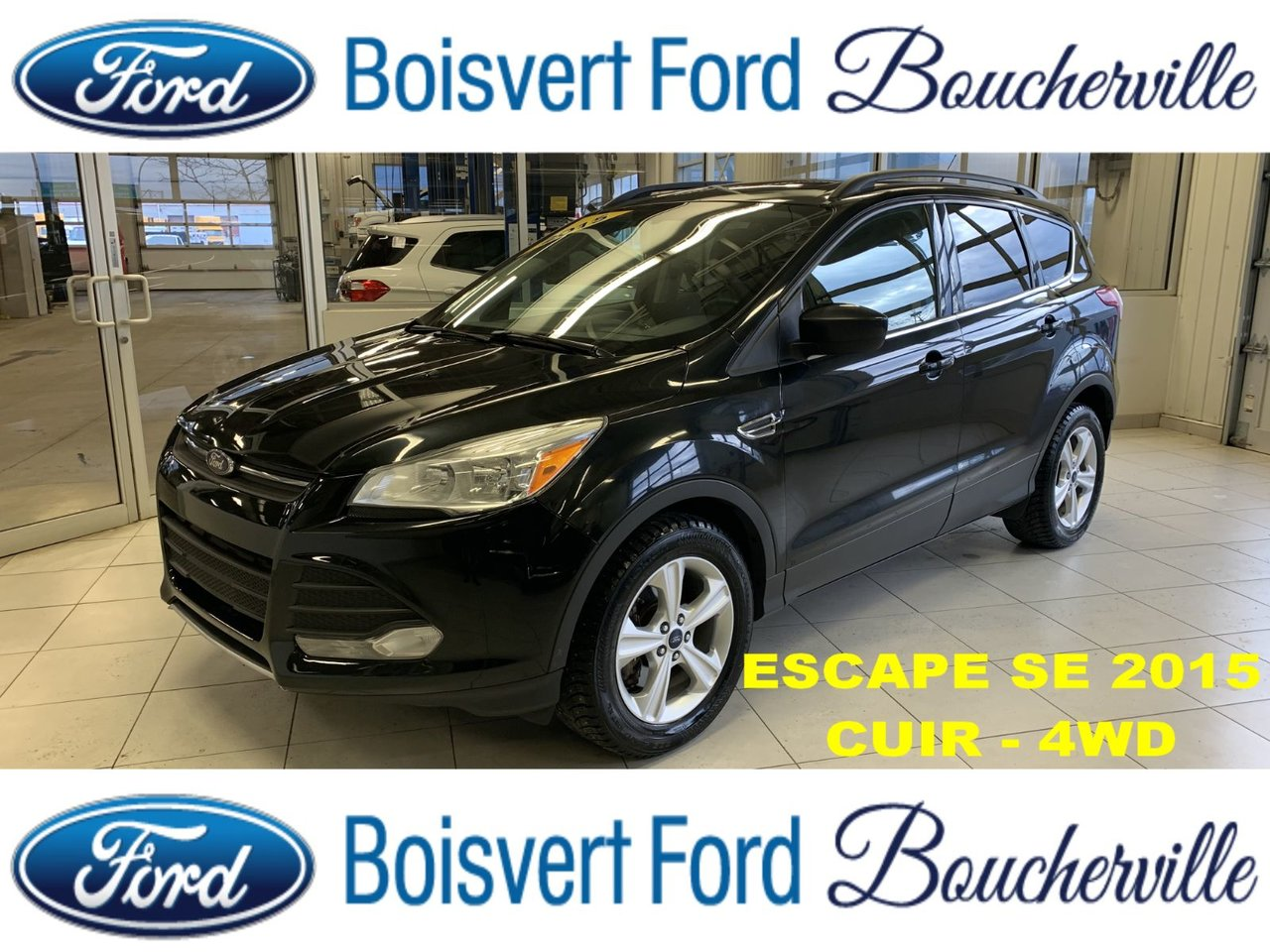 2015 Ford Escape SE 4WD CUIR