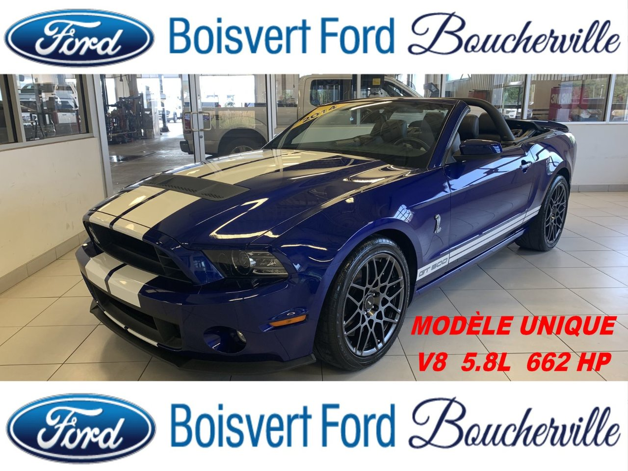 2014 Ford Mustang Shelby GT500 662 HP