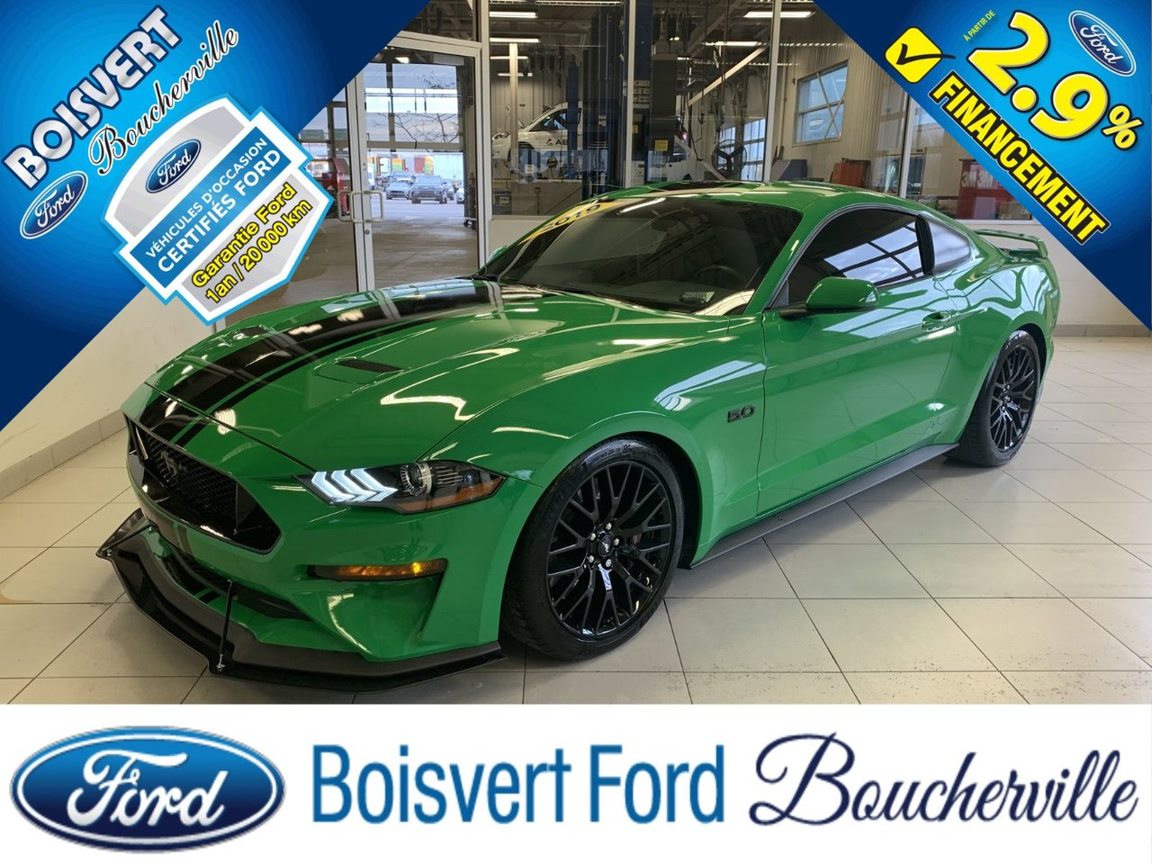 2019 Ford Mustang GT PERFORMANCE PACKAGE