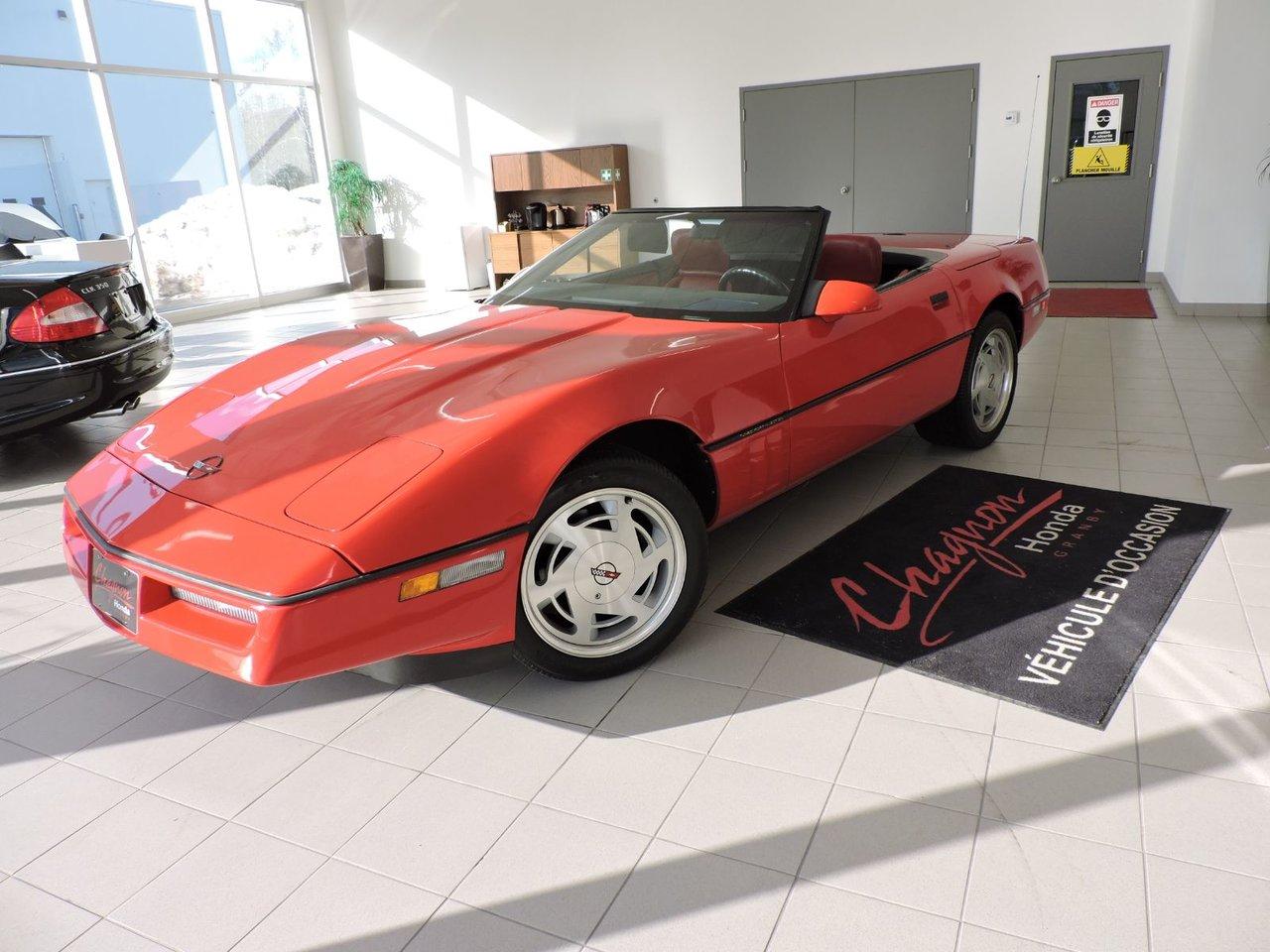 1989 Chevrolet  Corvette 1989 Classique