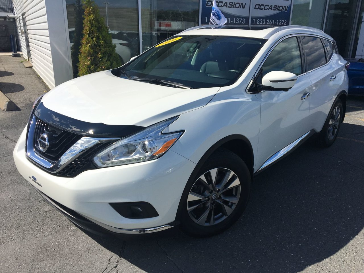 2016 Nissan  Murano SL AWD V6 FULL CUIR TOIT GPS MAGS IMPECCABLE