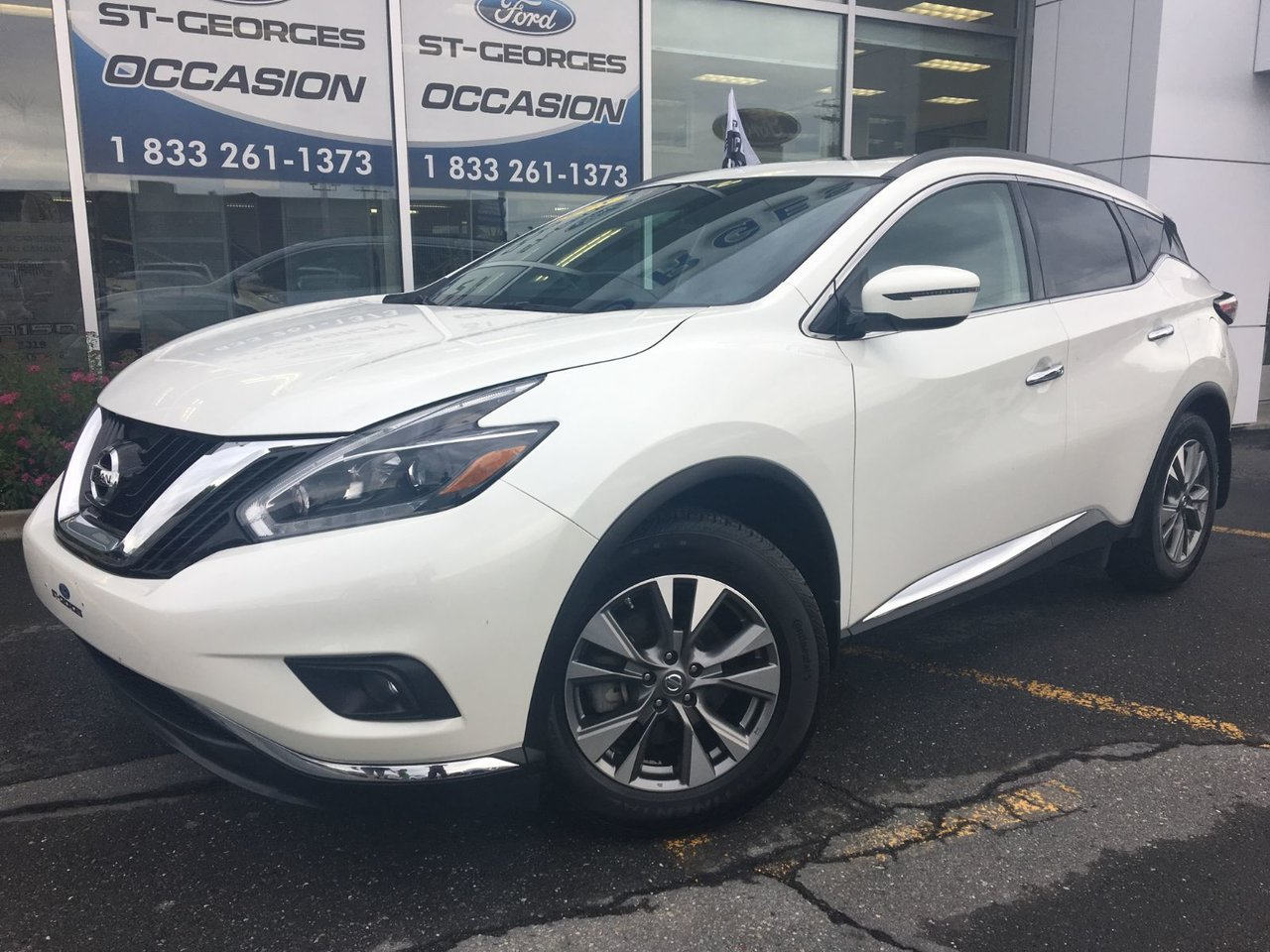 2018 Nissan  Murano SV AWD V6 TOIT PANORAMIQUE GPS IMPECCABLE