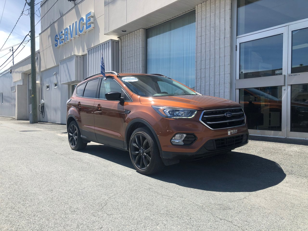 2017 Ford Escape SE, AWD, ENSEMBLE NOIR