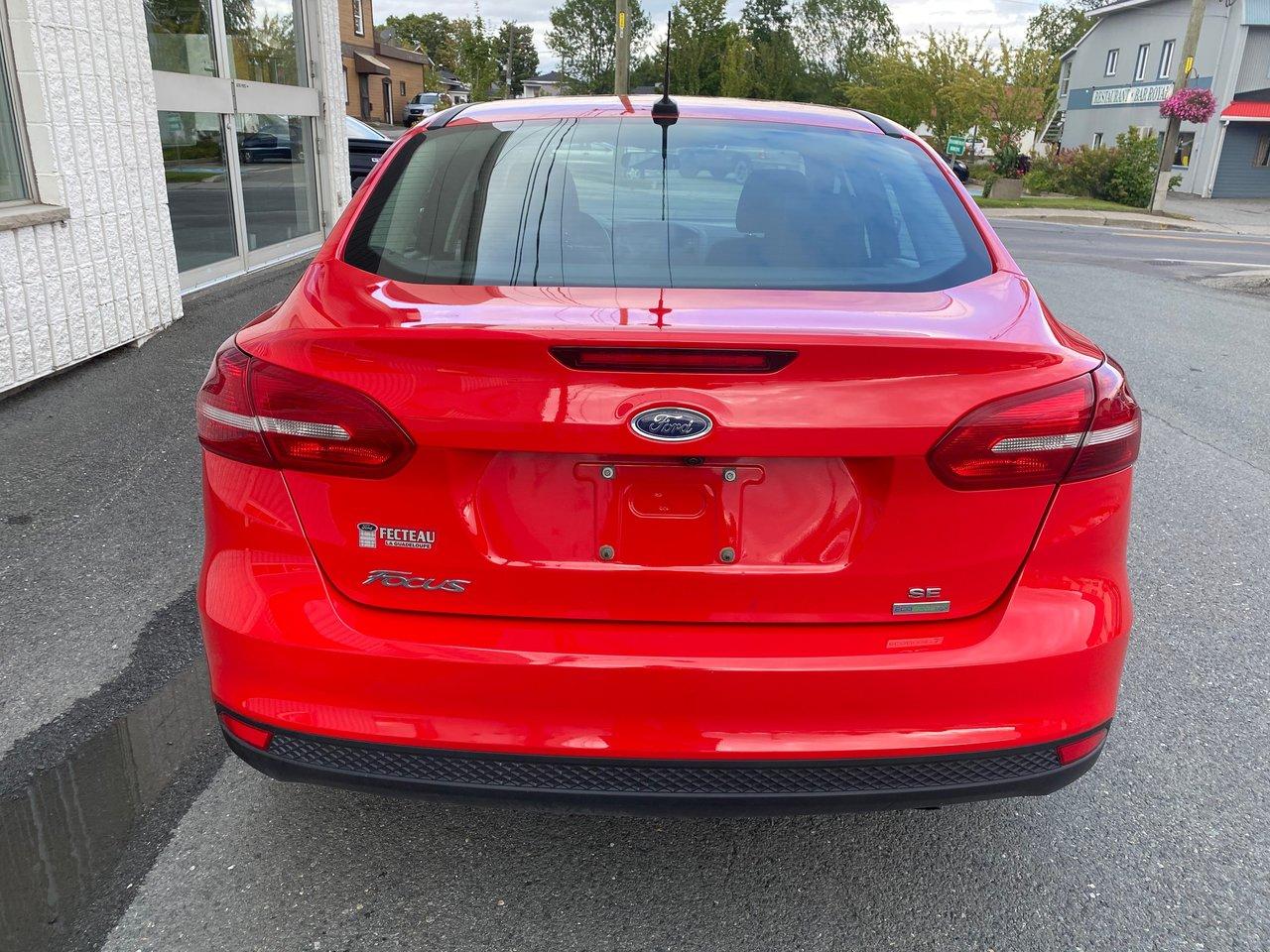 2017 Ford Focus SE CERTIFIÉ TAUX DE 2,9% POUR 72 MOIS WOW!