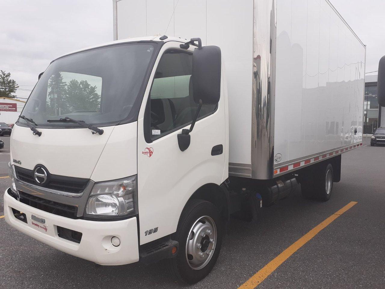 2015 Hino  195 Class 5