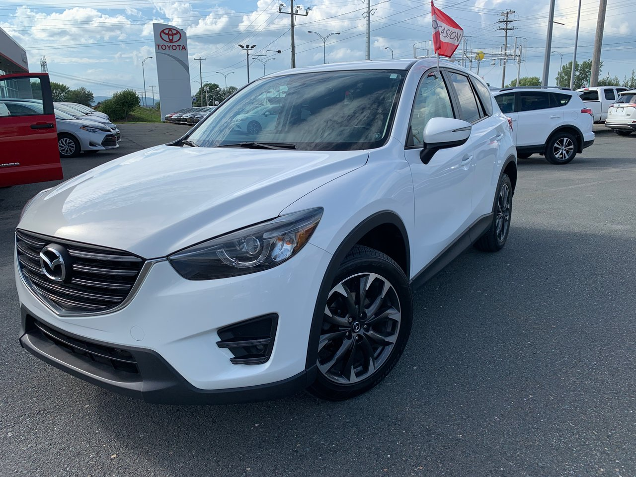 2016 Mazda  CX-5 AWD AC VITRES NAVIGATION CUIR MAGS TOIT OUVRA