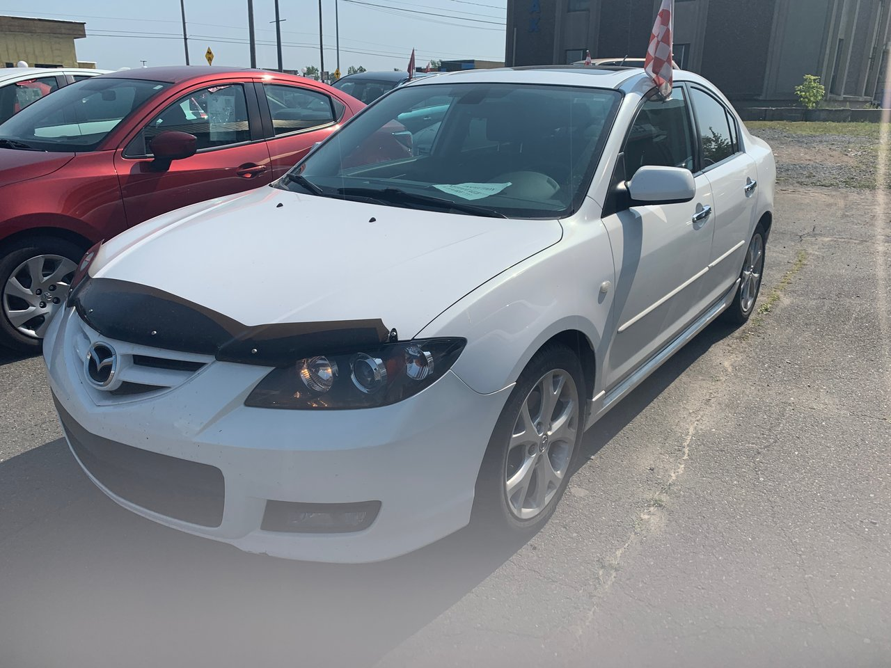 2009 Mazda  Mazda3 GT AC VITRES CUIR TOIT OUVRANT MAGS