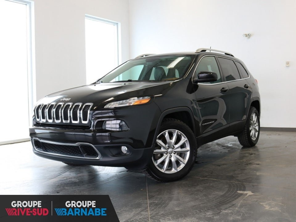 2016 Jeep  Cherokee Limited Navigation si?ge ventiler groupe lux