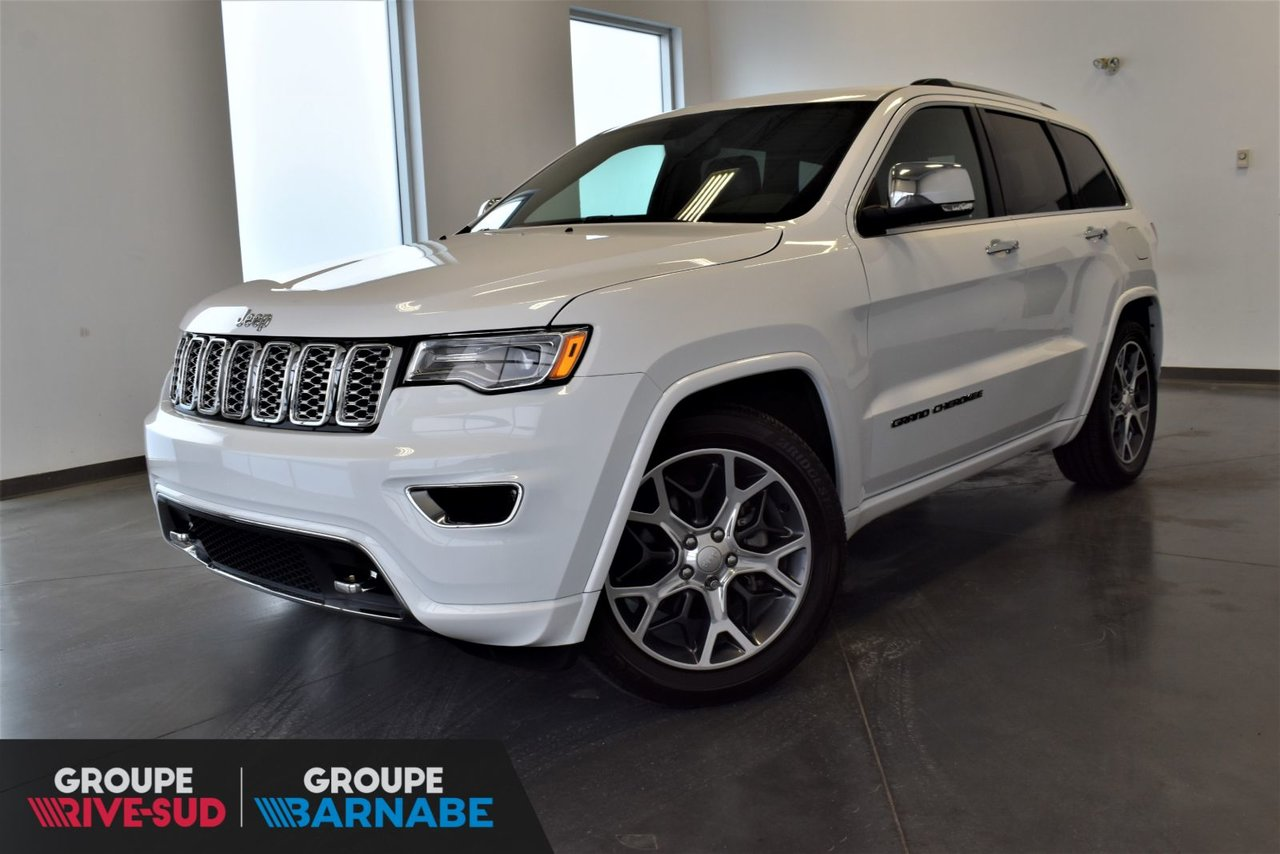 2019 Jeep  Grand Cherokee Overland +DEMO+V6 3.6 SUSPENSION PNEUMATIQUE