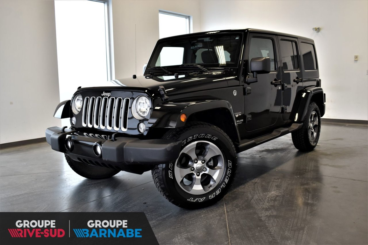 2017 Jeep  Wrangler Unlimited ***SAHARA UNLIMITED 2 TOIT PNEUS HIVER ***
