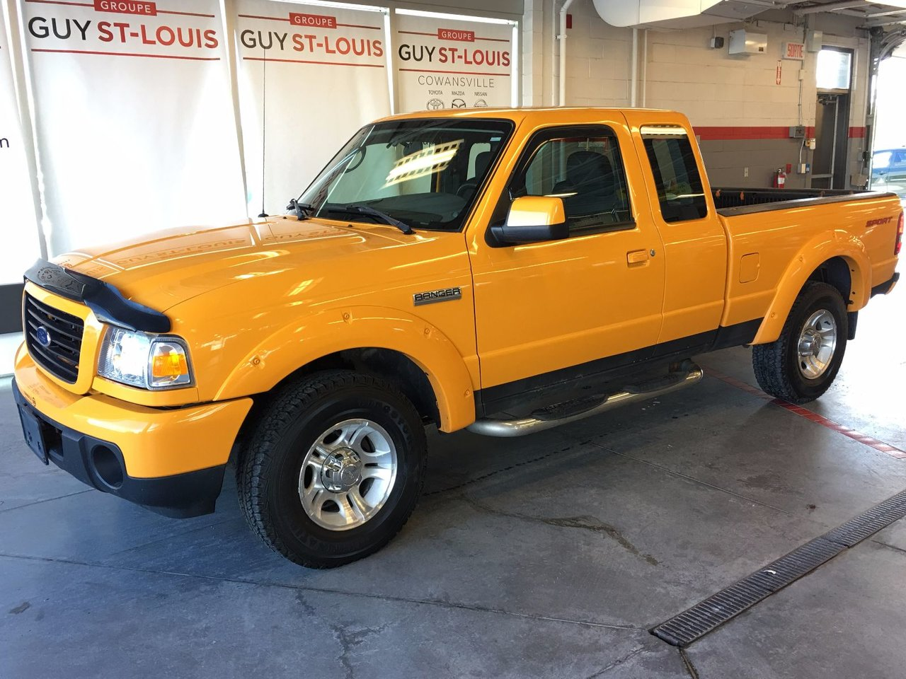 ford ranger 2008 d 39 occasion vendre chez cowansville nissan. Black Bedroom Furniture Sets. Home Design Ideas
