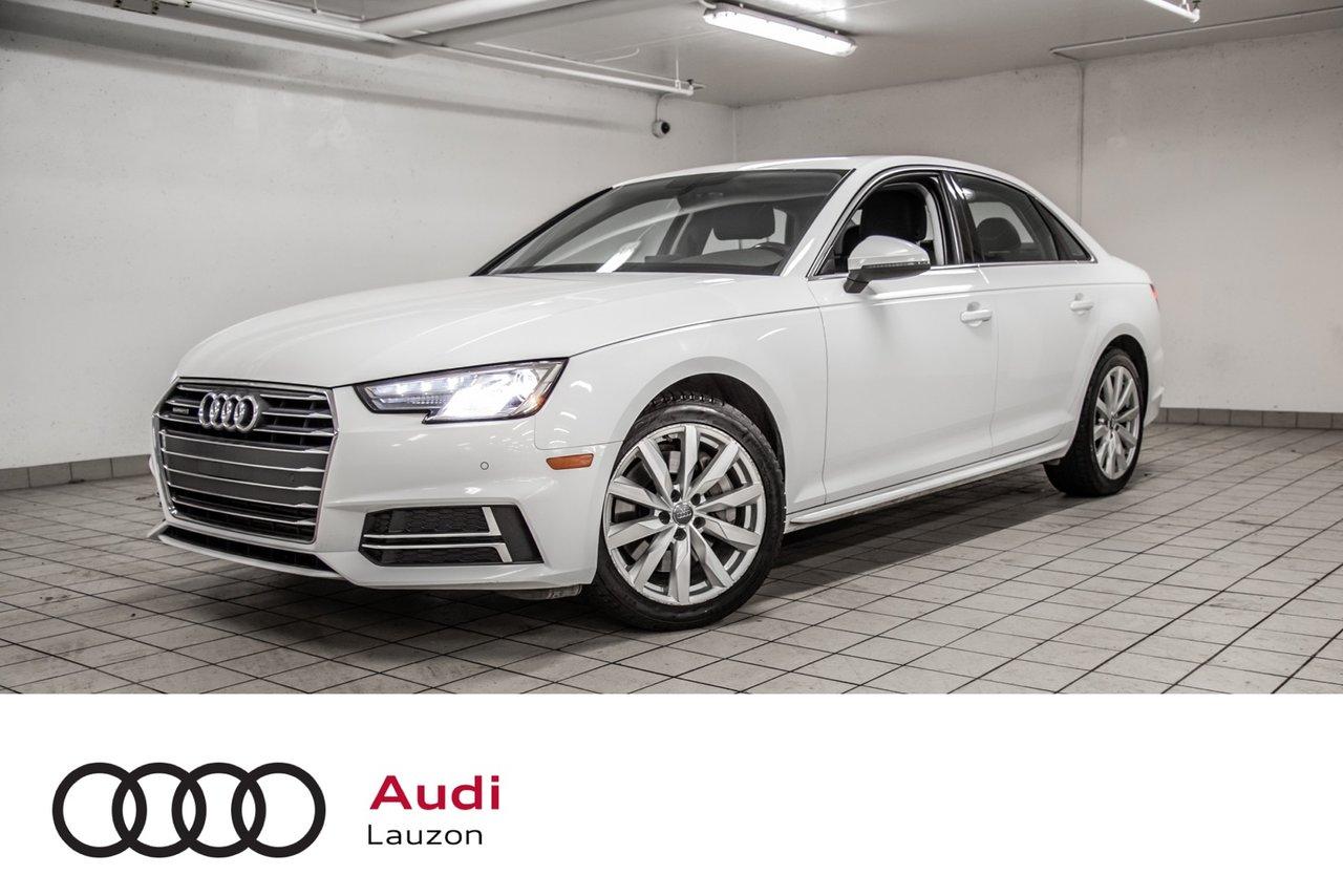 Audi A4 2018 KOMFORT ENS COMMODITÉS
