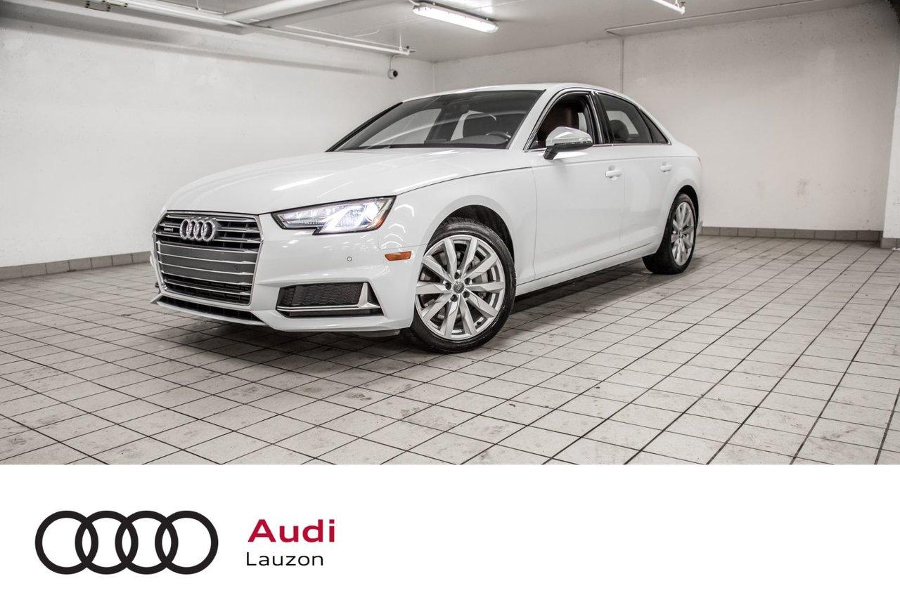 Audi A4 2019 KOMFORT ENS COMMODITÉS